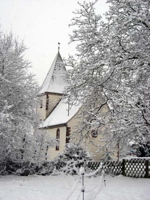 Weiße Vor-Weihnacht
