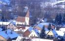 Winterliche Stimmung über Queichhambach